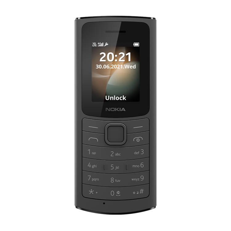 Nokia 110 4G Czarna Dual Sim