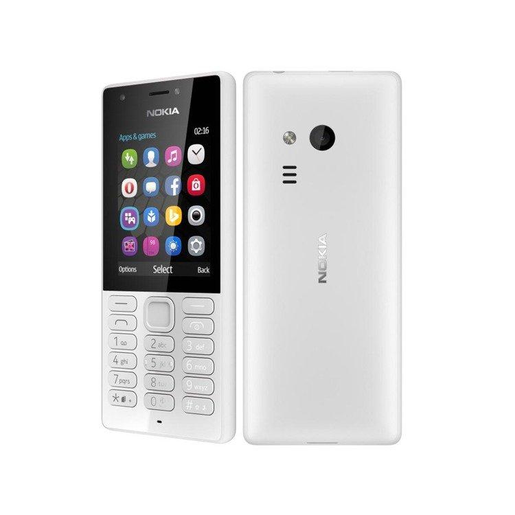 Nokia 216 Dual Sim Szara /OUTLET