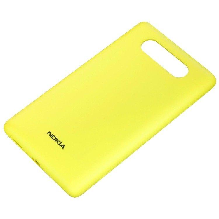 Obudowa do ładowania bezprzewodowego Nokia CC-3041 Żółty Matt Lumia 820