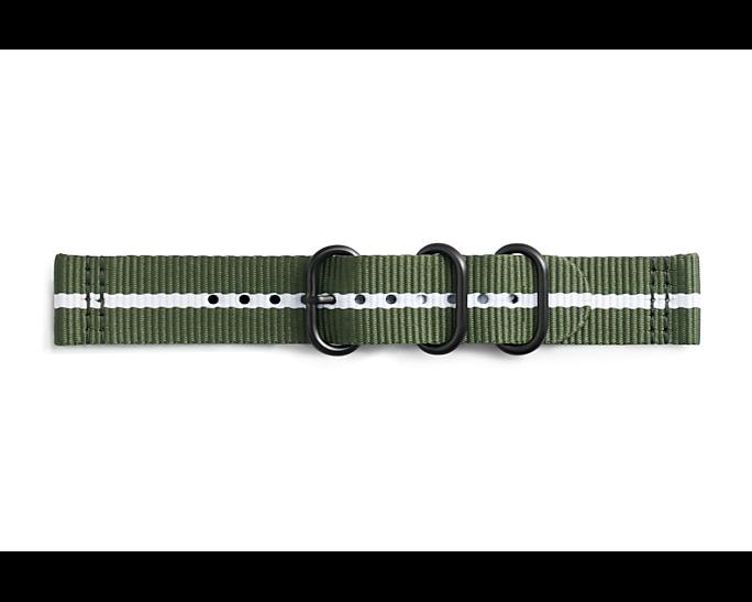 Pasek Gear Sport Premium Nato Strap Zielony (GP-R600BREECAD)