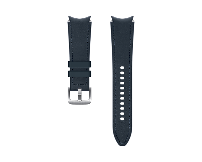 Pasek Samsung Hybrid Leather 20mm S/M Granatowy (ET-SHR88SNEGEU)