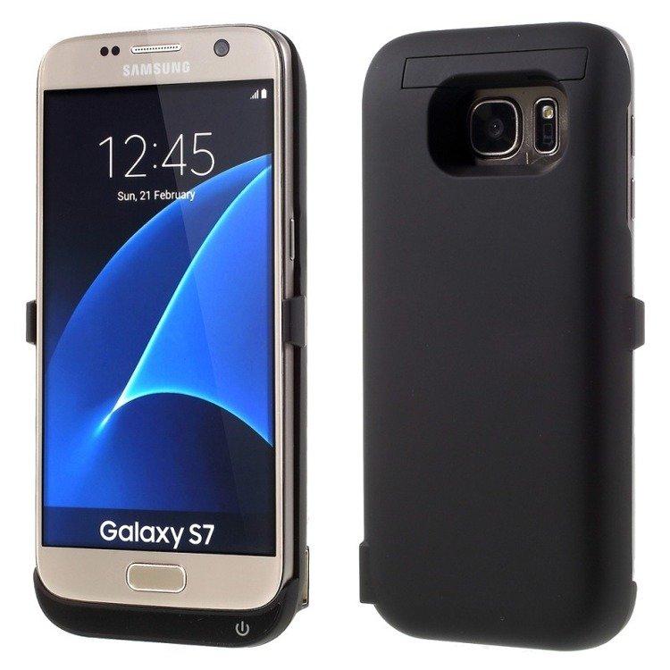 Pokrowiec SmartGPS z wbudowaną baterią 6500mAh do Samsung Galaxy S7