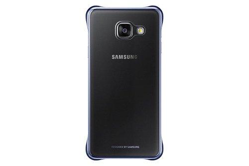 Samsung Etui Clear Cover Czarne do Galaxy A3 (2016) EF-QA310CBEGWW