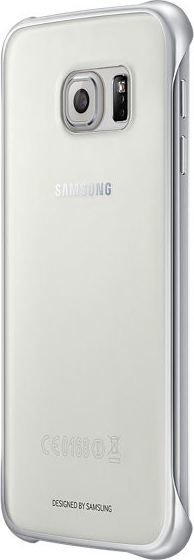 Samsung Etui Clear Cover Srebrne do Galaxy S6 EF-QG920BSEGWW