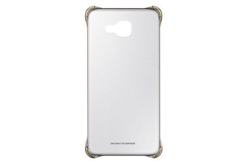 Samsung Etui Clear Cover Złote do Galaxy A5 (2016) EF-QA510CFEGWW