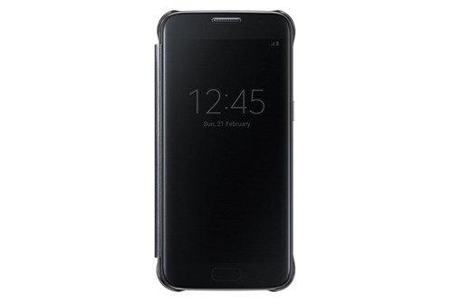 Samsung Etui Clear View Cover Czarne do Galaxy S7 EF-ZG930CBEGWW