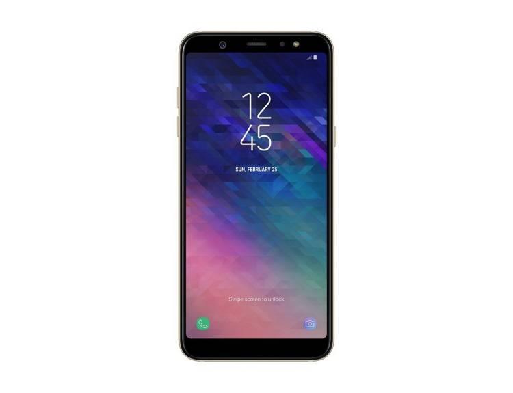Samsung Galaxy A6 3/32GB Złoty Dual SIM (SM-A600FZDNXEO) / OUTLET