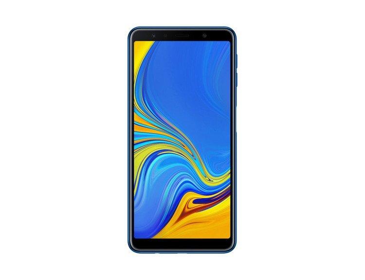 Samsung Galaxy A7 4/64GB Niebieski Dual SIM (SM-A750FZBUXEO) /OUTLET