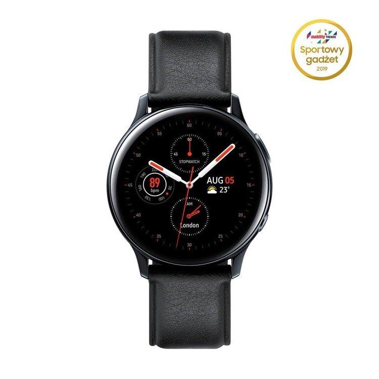 Samsung Galaxy Watch Active 2 Stal Czarny 40mm   SM-R830NSKAXEO