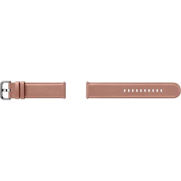Samsung Pasek Skórzany Różowy do Galaxy Watch Active/Active 2 20mm (ET-SLR82MPEGWW)