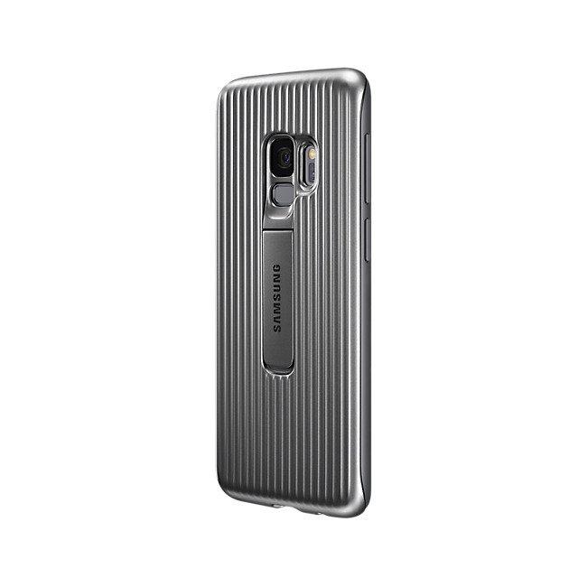 Samsung Protective Standing Cover do Galaxy S9 Srebrne EF-RG960CSEGWW