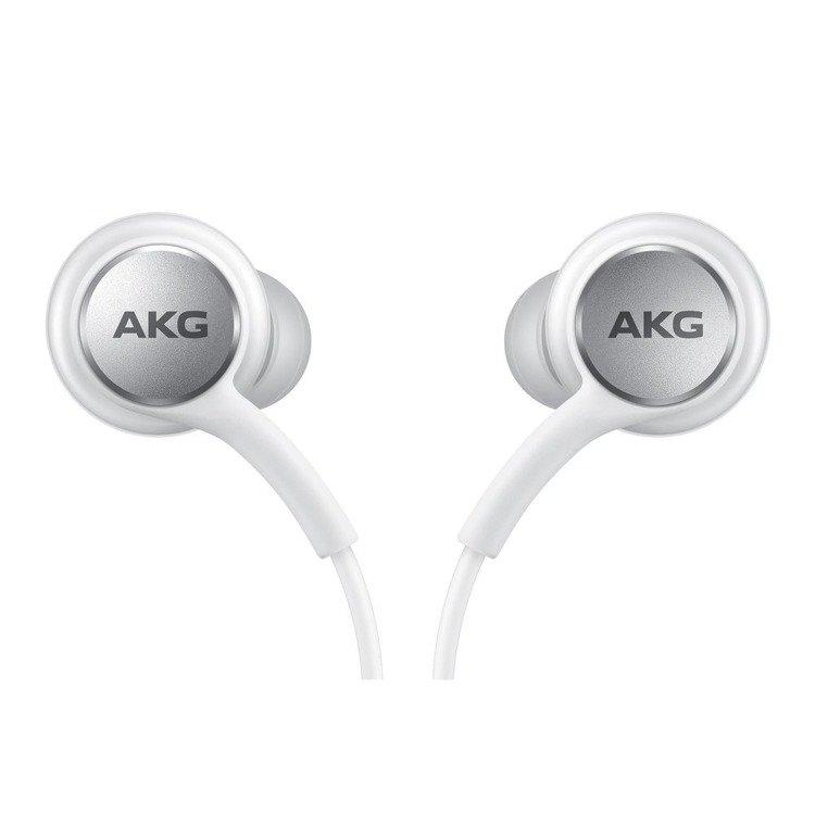 Samsung Słuchawki AKG Type-C Białe (EO-IC100BWEGEU)