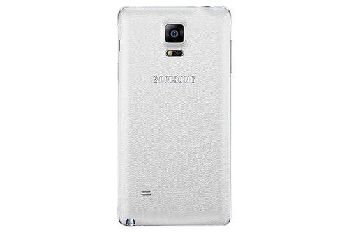 Samsung Tylna osłona Biała do Galaxy Note 4 EF-ON910SWEGWW