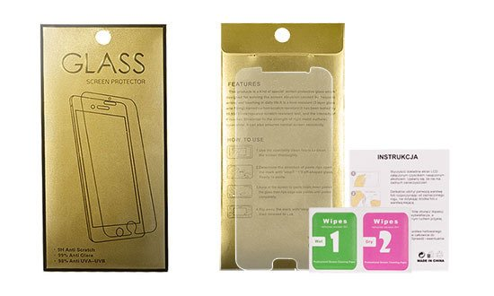 Szkło Hartowane Glass Gold do Nokia 3.1