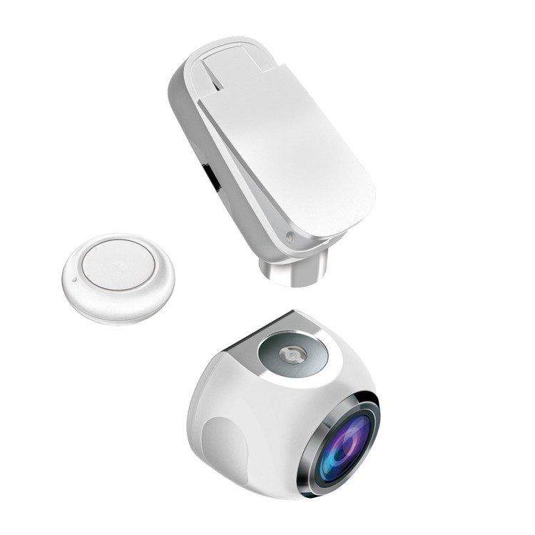 Wideorejestrator i Kamera internetowa 2w1 FullHD Becker BERLIN Biały