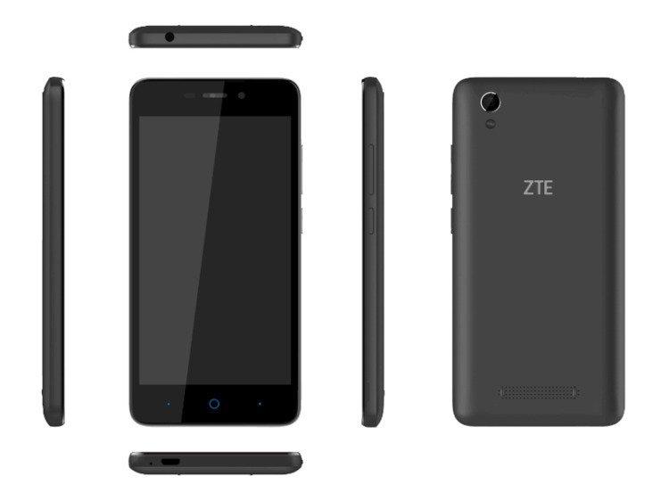 ZTE Blade A452 Dual SIM Czarny | OUTLET
